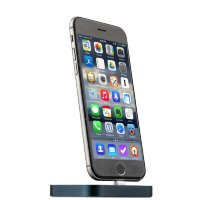 Док-станция COTEetCI Base8 Lightning stand CS2316-GC для iPhone X/ 8 Plus/ 8/ 7 Plus7/ 6/ SE/ iPod (Серый Космос) Графитовая