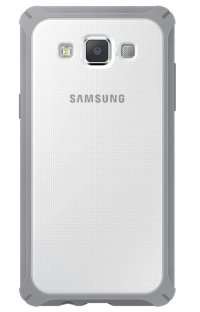 Samsung чехол A500 ProtectCover white-gray