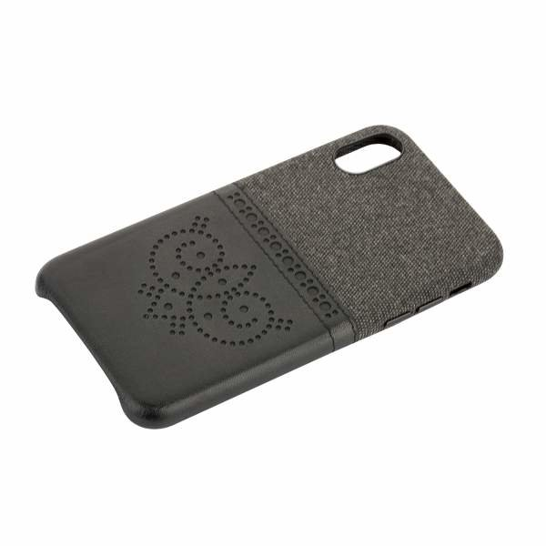 "Чехол-накладка XOOMZ для iPhone XS/ X (5.8"") Brogue Series Card Slot Back Cover (XIX24) Черный"