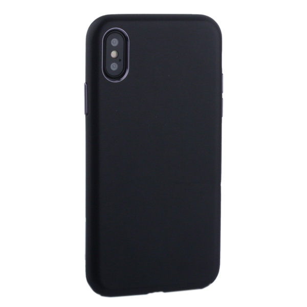 "Чехол-накладка кожаная TOTU Imitation all covered PU Leather Case для iPhone XS/ X (5.8"") AAiX/iXS-016 Черный"