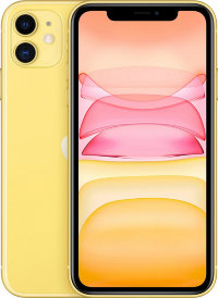 Смартфон Apple iPhone 11 256Gb MWMA2 (Yellow)