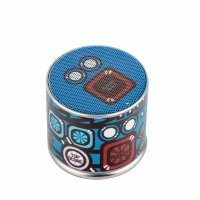 Портативный Bluetooth динамик I-Carer Mini Portable Fabric Speaker BF-120 (ISYX01) 3W-65db Голубой