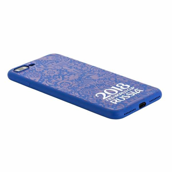"Чехол-накладка TPU Deppa D-103927 ЧМ по футболу FIFA™ Official Logotype для iPhone 8 Plus/ 7 Plus (5.5"") Синий"